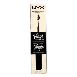 NYX Vinyl Liquid Eye Liner VLL01 Black NEW